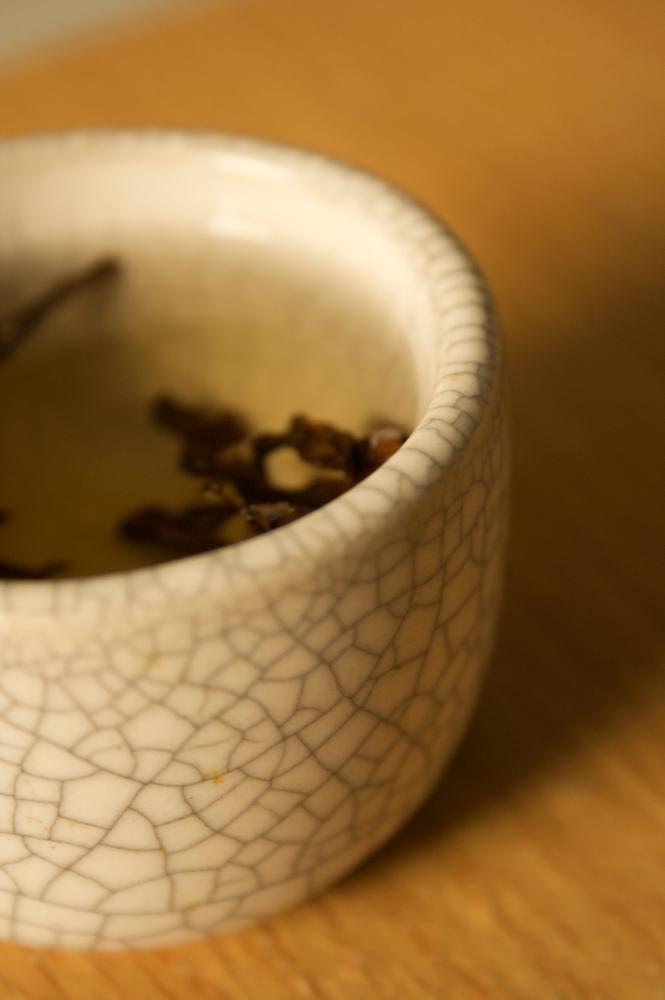 Cracked Glaze Teacup