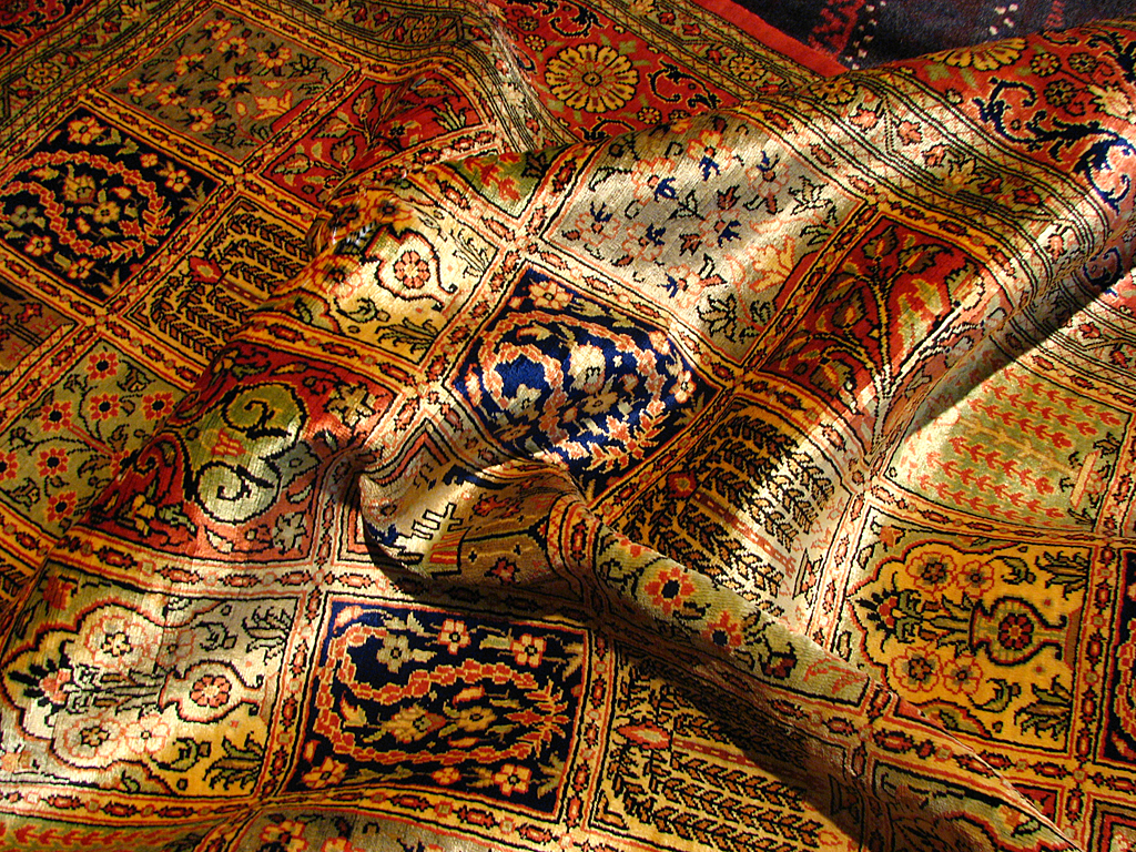 What Is A Persian Rug Wooden Blinds Direct