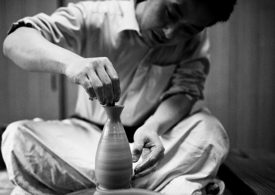 Japanese potter
