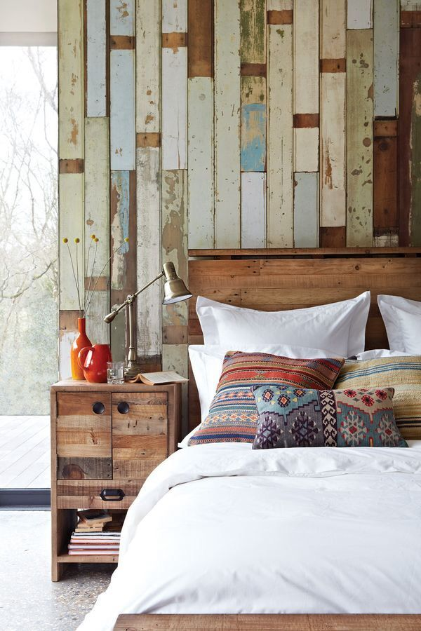 Wooden cladding wall