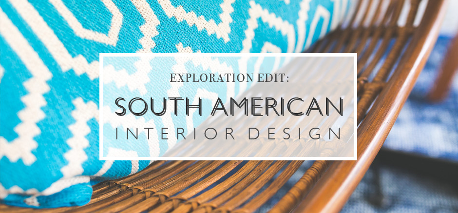 South American Interior Design Banner